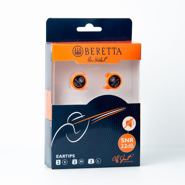 Beretta nappikuulosuojat pakkaus